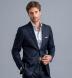 Hudson Wrinkle-Resistant Light Blue Twill Shirt Thumbnail 3
