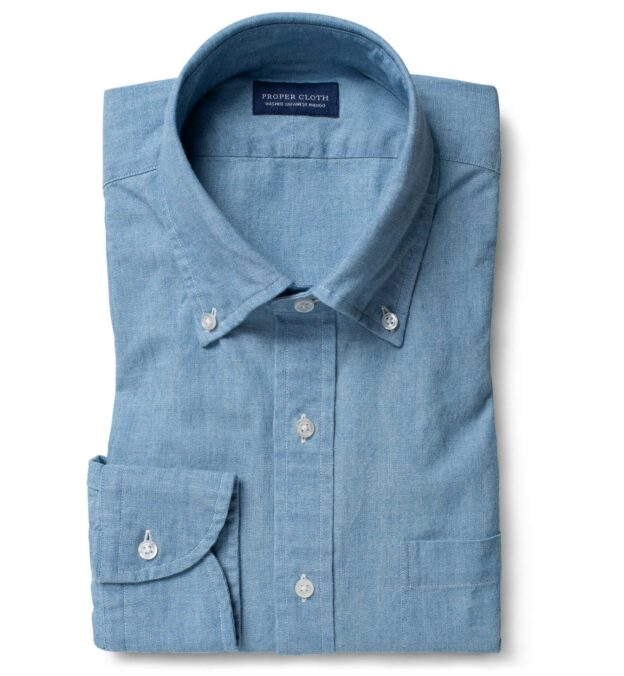 Japanese Light Indigo Chambray