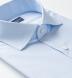 Thomas Mason Goldline Light Blue Micro Glen Plaid Twill Shirt Thumbnail 2