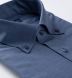 Reda Light Slate Melange Merino Wool Shirt Thumbnail 2