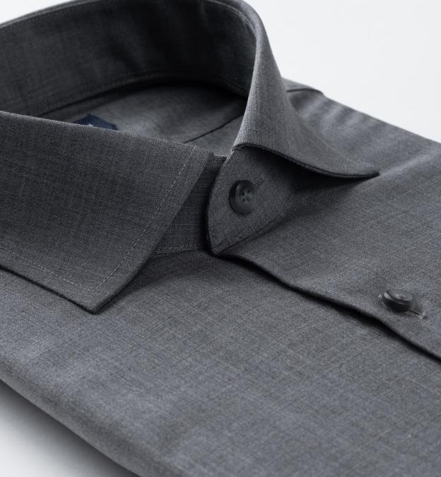 Reda Grey Melange Merino Wool