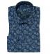 Albini Vintage Navy Floral Print Shirt Thumbnail 1