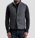 Albiate Grey Melange Plaid Flannel Shirt Thumbnail 3