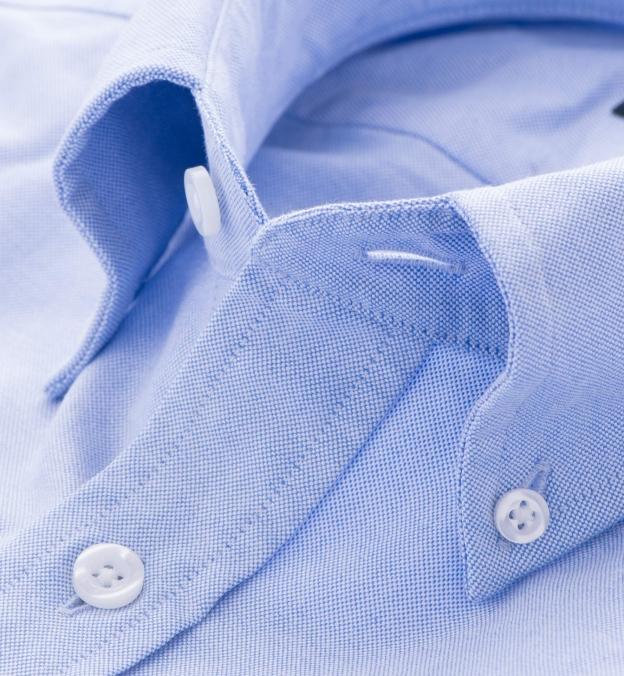 Light Blue Heavy Oxford Popover Shirt