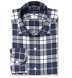 Canclini Slate Plaid Beacon Flannel Shirt Thumbnail 1
