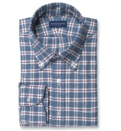 Blue and Red Check Flannel Image