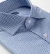 Thomas Mason Non-Iron Navy Gingham Shirt Thumbnail 2