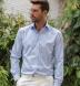 Mayfair Wrinkle-Resistant Blue Multi Check Shirt Thumbnail 3