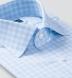Beekman 120s Light Blue Multi Grid Shirt Thumbnail 2