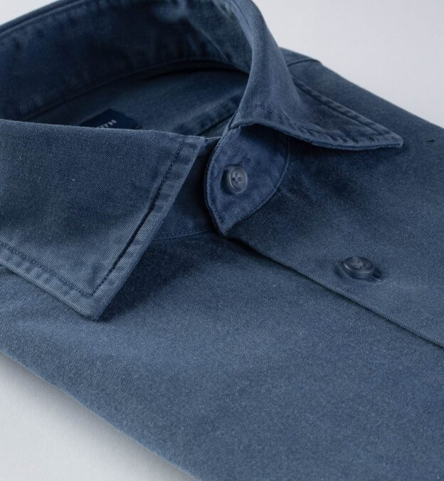 Albiate Washed Slate Blue 60s Denim