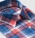 Japanese Red and Blue Plaid Shirt Thumbnail 2