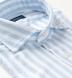 Amalfi Light Blue Bengal Stripe Pique Shirt Thumbnail 2