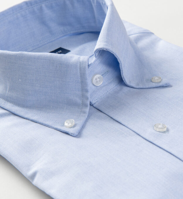 Canclini Light Blue Recycled Cotton Chambray
