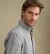 Tessuti di Sondrio Light Grey Prince of Wales Linen Shirt Thumbnail 5