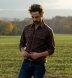 Canclini Rust and Grey Plaid Beacon Flannel Shirt Thumbnail 3