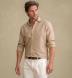 Portuguese Sand Cotton Linen Oxford Shirt Thumbnail 2