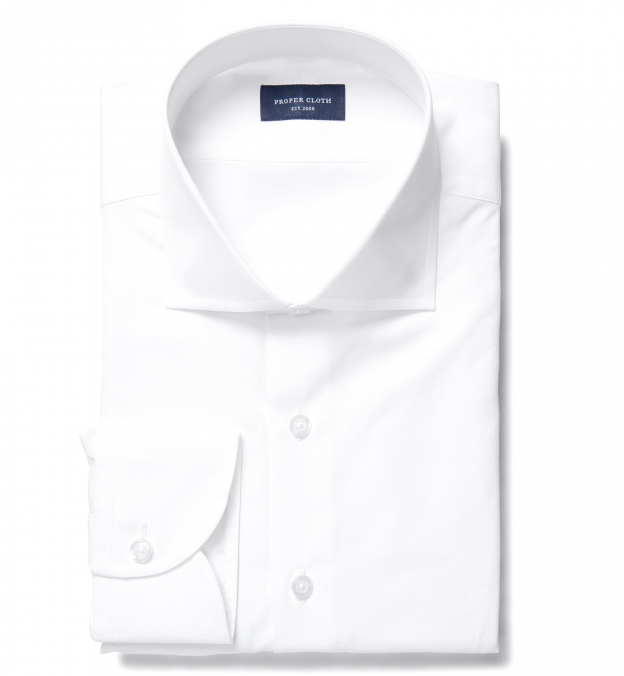 Miles 120s White Broadcloth