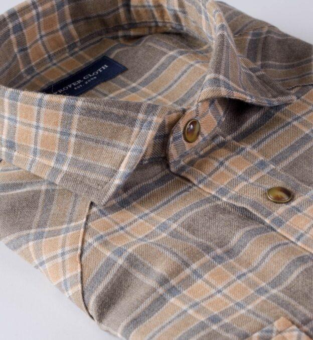 Satoyama Maple Plaid Flannel