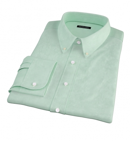 Green Heavy Oxford