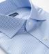 Thomas Mason Non-Iron Blue Gingham Shirt Thumbnail 2