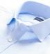 Thomas Mason Light Blue Wrinkle-Resistant Imperial Twill Shirt Thumbnail 2