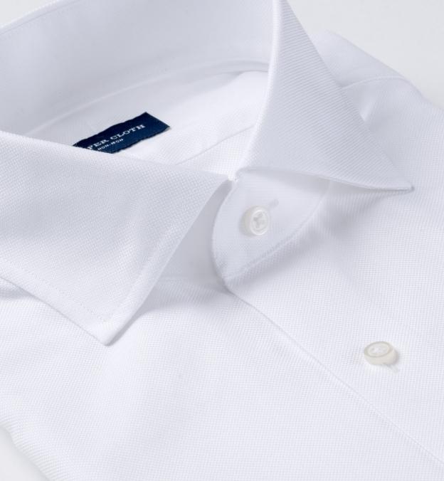 Non-Iron Supima White Royal Oxford