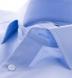Miles 120s Light Blue Broadcloth Shirt Thumbnail 2