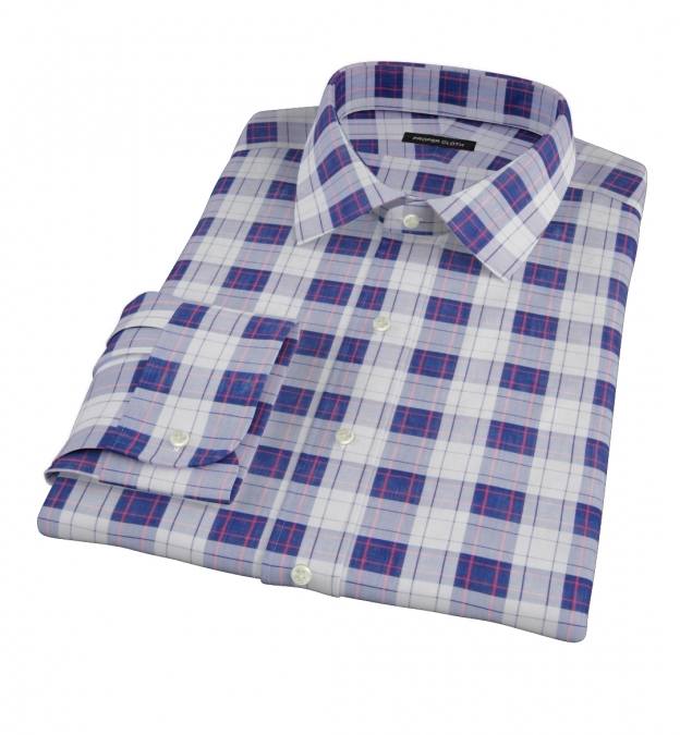 Canclini Etna Plaid Custom Made Shirt