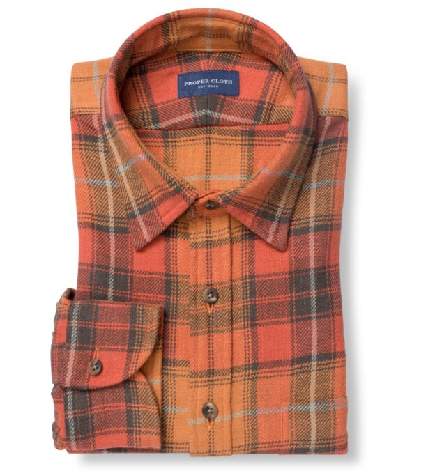Japanese Washed Sunset Country Plaid