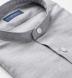 Grey Melange Cotton Linen Blend Shirt Thumbnail 2