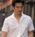 Japanese White Wide Seersucker Shirt Thumbnail 3