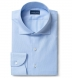 Non-Iron Supima Light Blue Royal Oxford Shirt Thumbnail 1