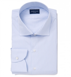 DJA Sea Island Blue End-on-End Stripe