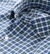 Albiate Pine and Navy Small Plaid Shirt Thumbnail 2