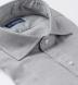 Albini Grey Melange Tencel Shirt Thumbnail 2