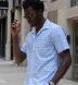 Canclini Sky Blue Vintage Block Print Shirt Thumbnail 3