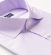 Thomas Mason Goldline Lavender Micro Glen Plaid Twill Shirt Thumbnail 2