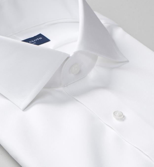 Non-Iron Supima White Pinpoint