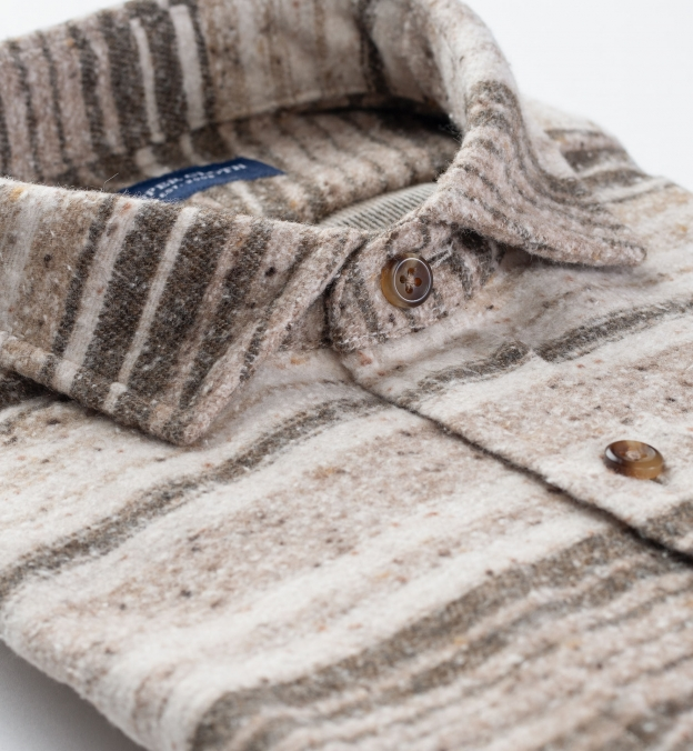 Japanese Beige Blanket Stripe