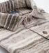 Japanese Beige Blanket Stripe Shirt Thumbnail 2