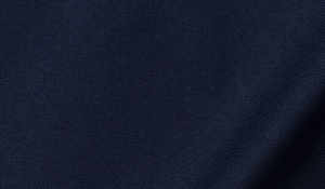 Fabric swatch of Midnight Navy Heavy Oxford Fabric
