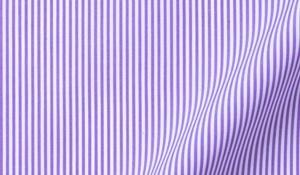 Fabric swatch of Carmine Lavender Pencil Stipe Fabric