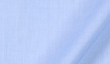 Thomas Mason Goldline Light Blue End-on-End Fabric Sample