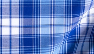 Fabric swatch of Canclini Appenine Plaid Fabric