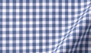 Fabric swatch of Lorimer Slate Blue Check Fabric