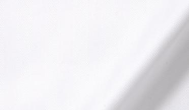 Custom shirt made with DJA Sea Island White Herringbone Fabric
