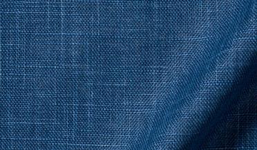 Fabric swatch of Washed Japanese Blue Slub Weave Fabric