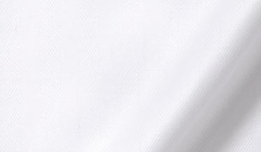 Fabric swatch of 120s White Royal Herringbone Fabric