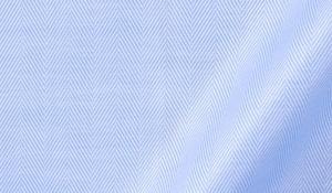 120s Light Blue Royal Herringbone Fabric Sample
