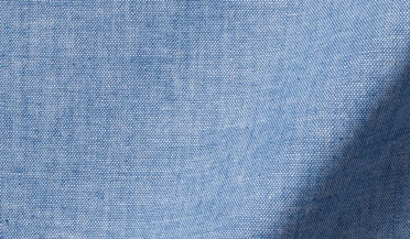 Fabric swatch of Japanese Light Indigo Chambray Fabric